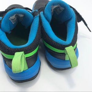 Nike Shoes - Nike Team Hustle D8 Black and Blue Sneaker 12C